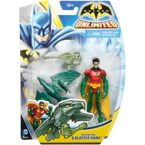 FIGURKI BATMAN UNLIMITED - ROBIN I BLASTER HAWK