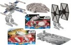 STAR WARS TRANSPORTER VS. X-WING FIGHTER FALCON