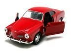 AUTO METALOWE WELLY 1:34 VOLKSWAGEN KARMANN GHIA