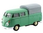AUTO WELLY 1:34 VOLKSWAGEN T1 DOUBLE CABIN PICK UP