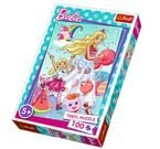 PUZZLE ŚWIAT BARBIE 100 EL - TREFL