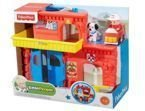 REMIZA STRAŻACKA LITTLE PEOPLE FISHER PRICE BGC67
