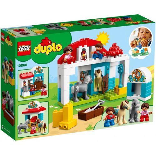 Klocki Lego Duplo Stajnia Z Kucykami 10868 5702016117196 Ebay