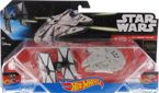 2w1 STATEK  STAR WARS FALCON + FIGHTER MILLENNIUM