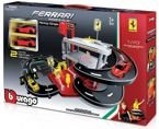 BBURAGO FERRARI RACE PLAY GARAŻ PARKING AUTA 1:43