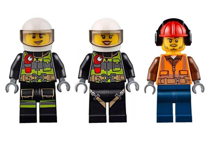 Klocki Lego City Helikopter Strażacki 60108 Licencje Lego City