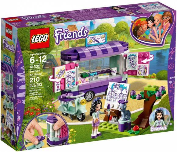 Klocki Lego Friends Stoisko Z Rysunkami Emmy 41332 Licencje Lego
