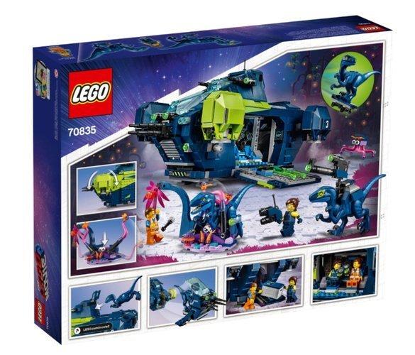 LEGO MOVIE 2 KLOCKI 1187 EL REXPLORER REXA 70835
